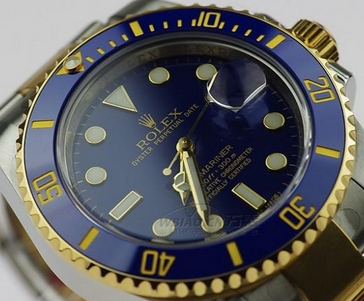 Rolex Submariner Date Replica Watches With Blue Dials