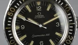 Stainless Steel Omega Seamaster 300 Vintage Replica Watch