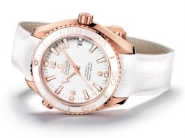 OMEGA Seamaster Planet Ocean Ceragold 42 mm White Planet St. Moritz