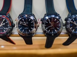 Omega Seamaster Planet Ocean GMT Deep Black Watch