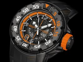 richard mille rm 028 orange flash
