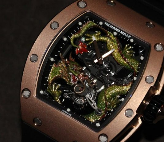 Richard Mille RM 057 Tourbillon Dragon-Jackie Chan