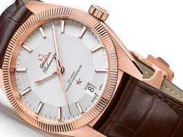 39mm Omega Globemaster Replica Watch