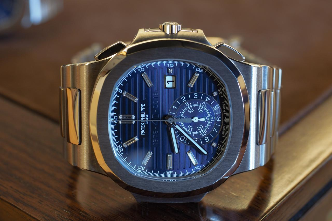 Best Quality Patek Philippe Nautilus 40th Anniversary Edition