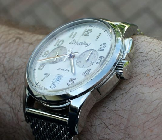 Breitling Transocean Chronograph 1915 Watch