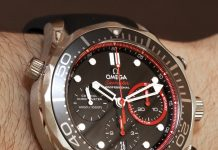 Omega Seamaster 300M Co-Axial Chronograph ETNZ Limited Edition Watch Hands-On Hands-On