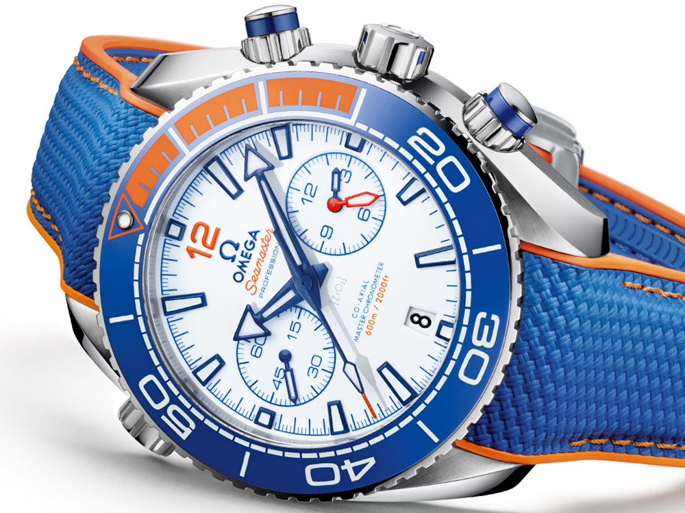 Omega Seamaster Planet Ocean 'Michael Phelps' Limited Edition Watch Watch Releases