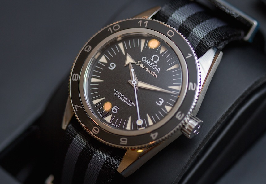 Omega Seamaster 300 Spectre Limited Edition James Bond Watch Hands-On Hands-On