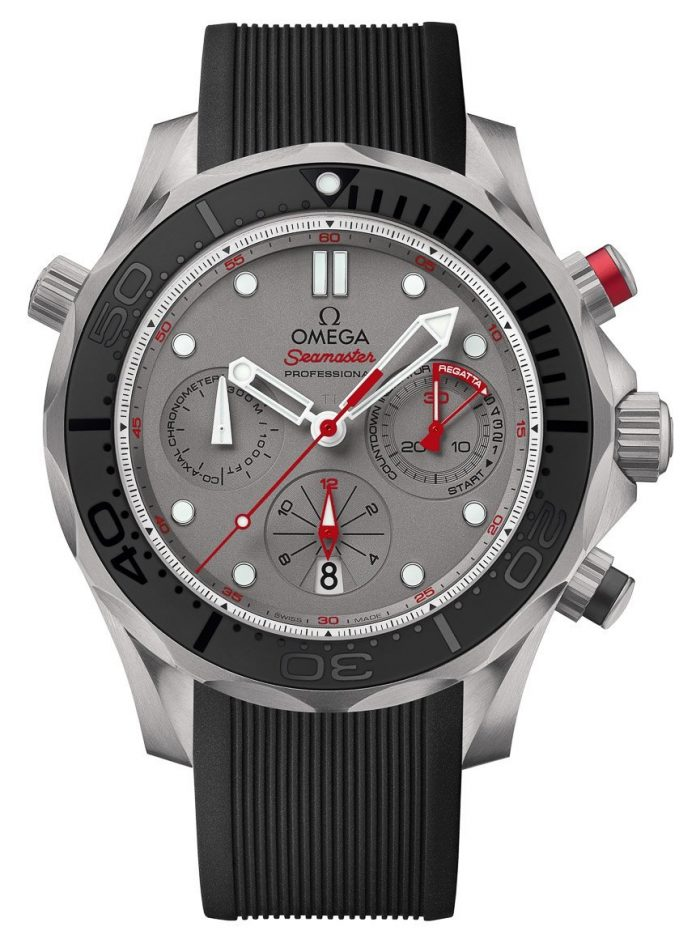 Omega Seamaster Diver 300M Co-Axial Chronograph ETNZ Watch For 2015 America's Cup Watch Releases