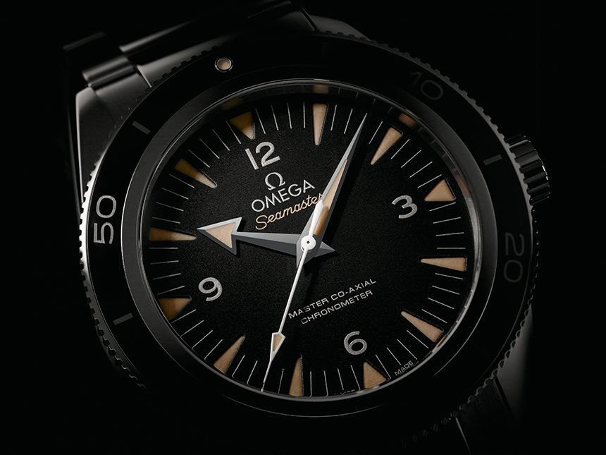 Omega Seamaster 300 Master Co-Axial Watch Watch Releases