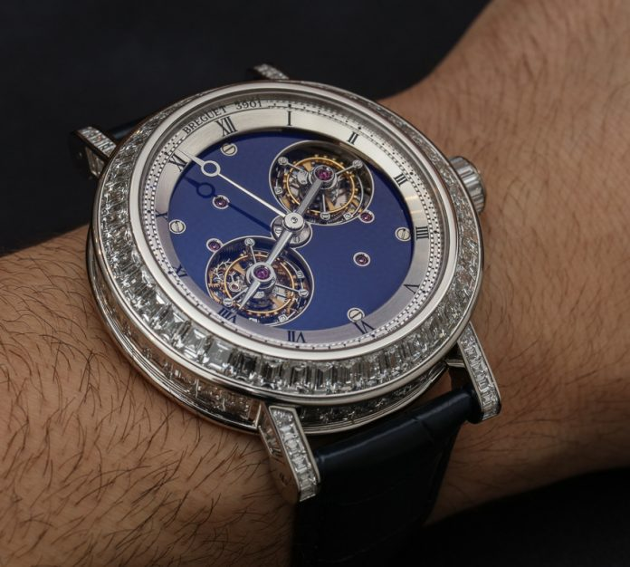 Breguet Double Tourbillon 5349 Watch With Diamonds Hands-On Hands-On