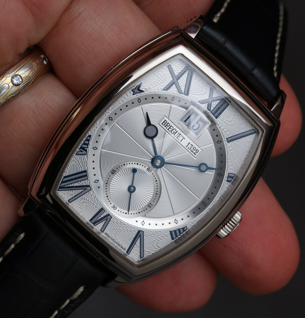 Breguet Heritage 5410 Tonneau Watch Hands-On Hands-On