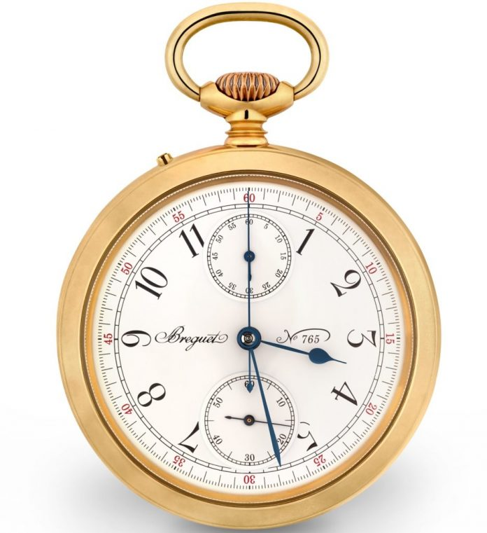 Breguet Recreates Pocket Watch No. 765 For 'Darkest Hour' Film Watch Releases
