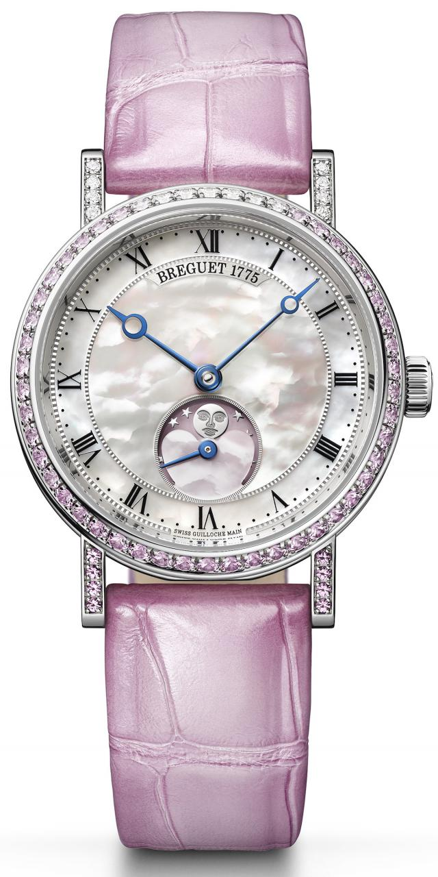 Breguet Valentine's Day Classique Phase De Lune Dame Ref. 9085 Watch Watch Releases Watches for women